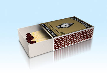 3D Safety Matches by PsikoPower