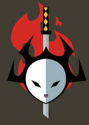 Curse you, Samurai! by GinKadia