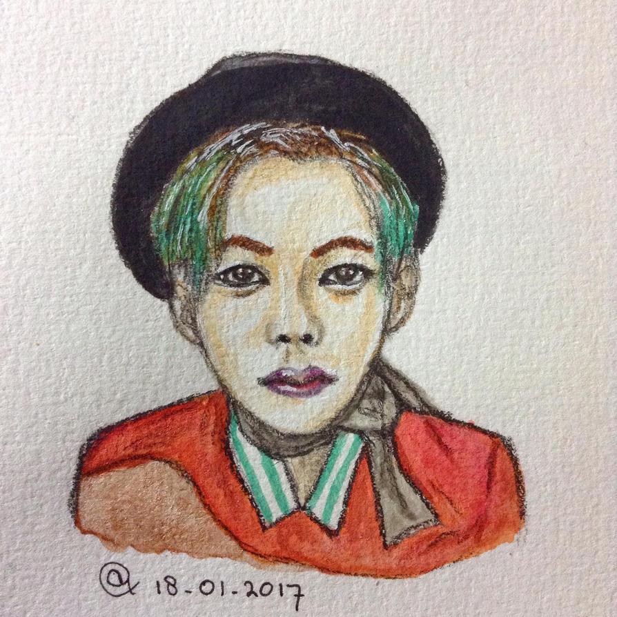 Small watercolor practice by AmezeitArt