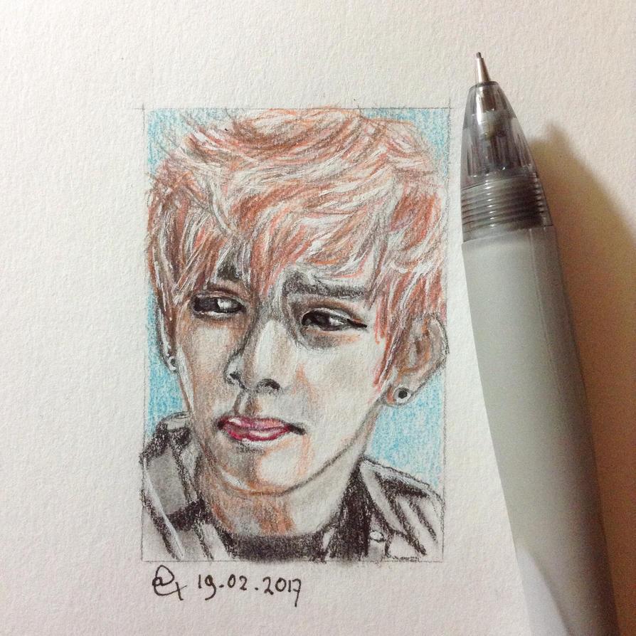 Mini portrait practice by AmezeitArt