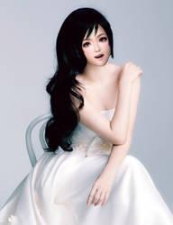 Guan Yinping Pure White by septian-febri-anto