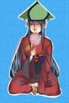 :Dinner time for the samurai's boy-child: