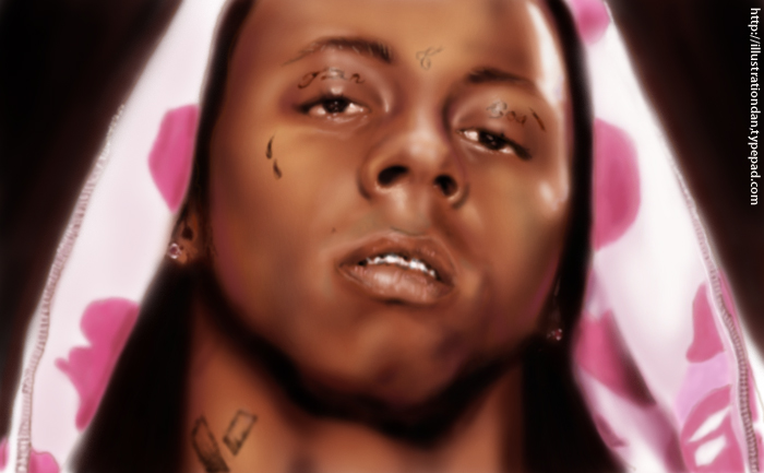 Lil Wayne Speedpainting by Illustrationdan
