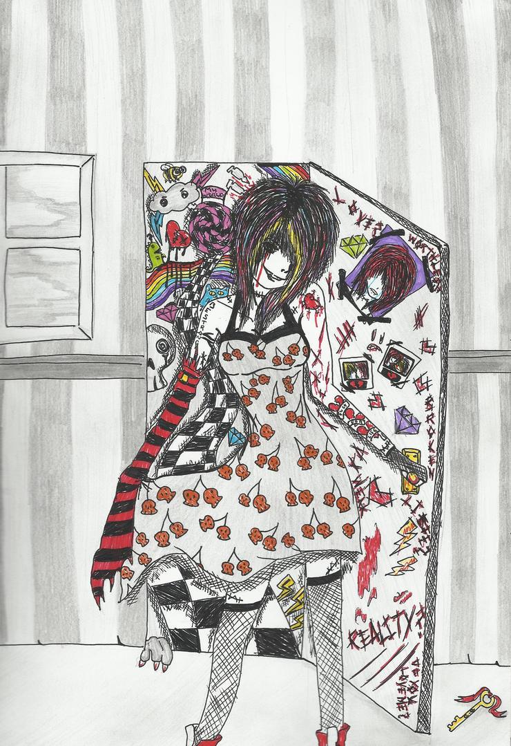 My Own Little World by YukiTheKittyCat