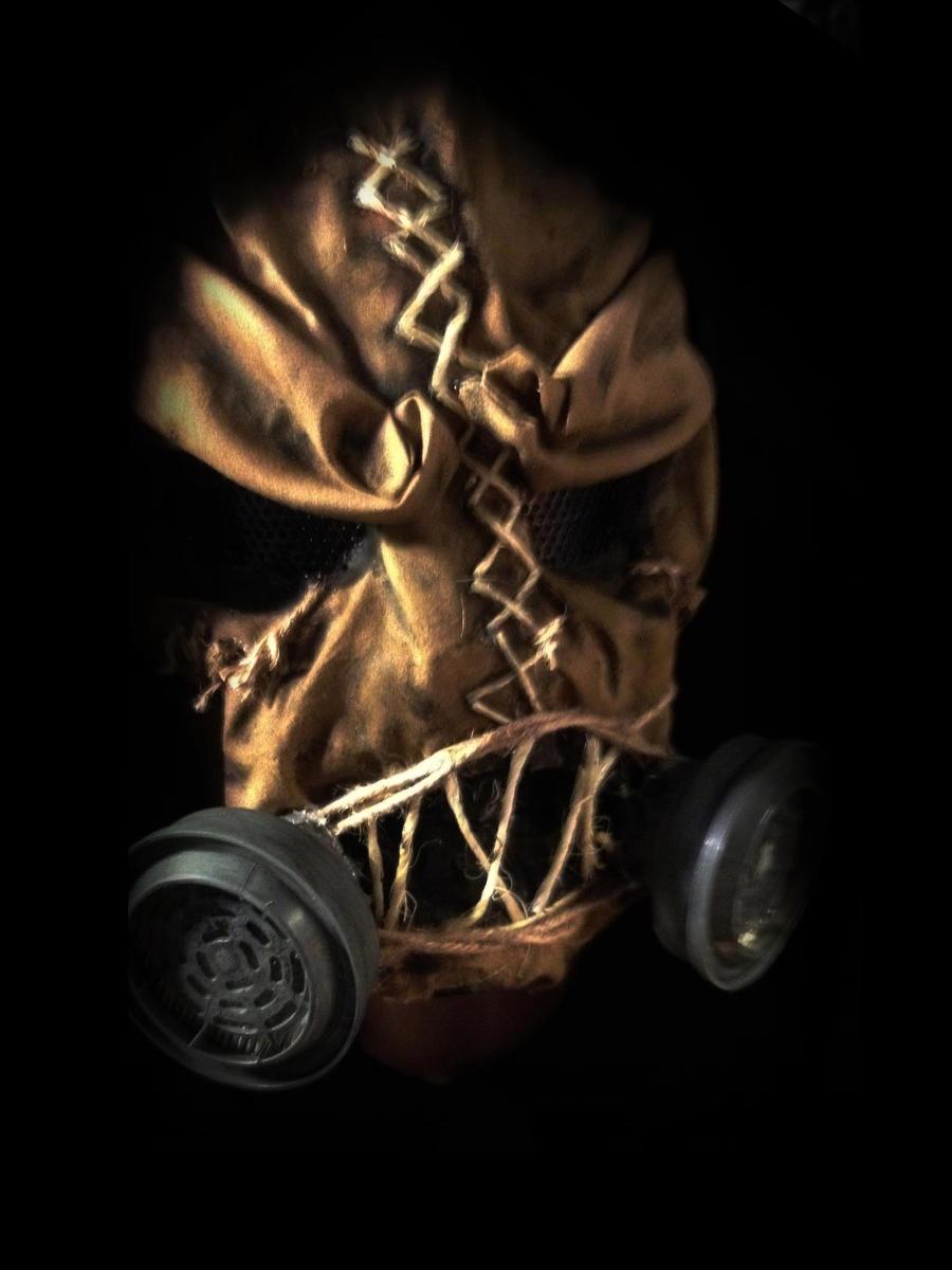 Scarecrow Batman Arkha... Scarecrow Mask Arkham City