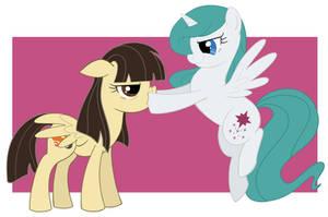 Best Ponies by glittering-pony