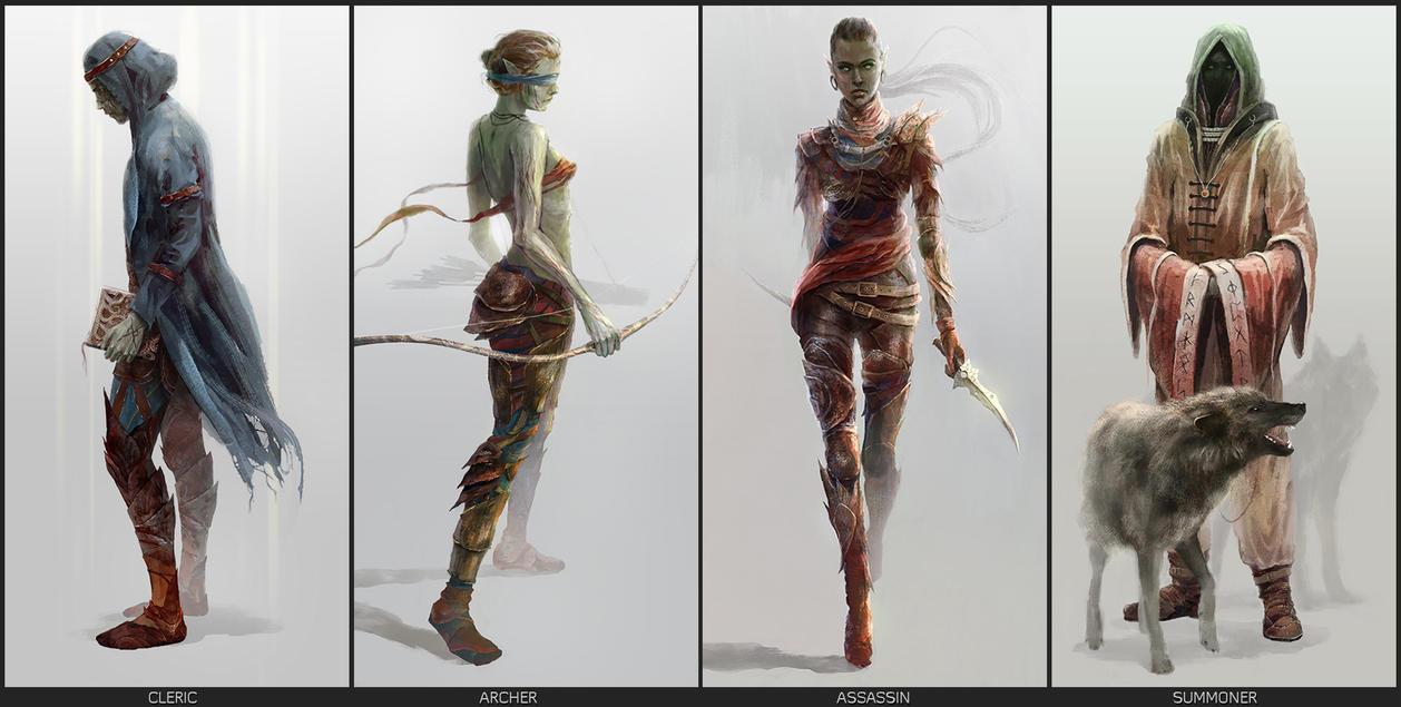 Dark Elf - Concept by MrPanek