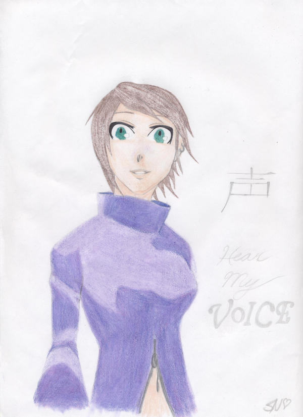 Hear My Voice - color by Deidara-no-koiishi