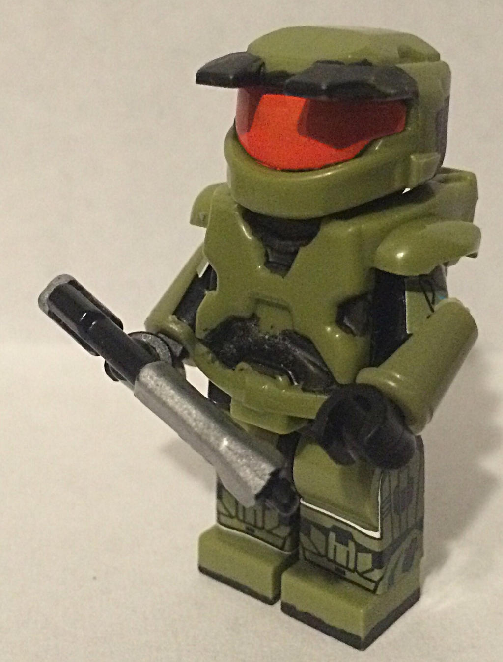 Lego Master Chief from Halo Combat Evolved. by Mike-1911