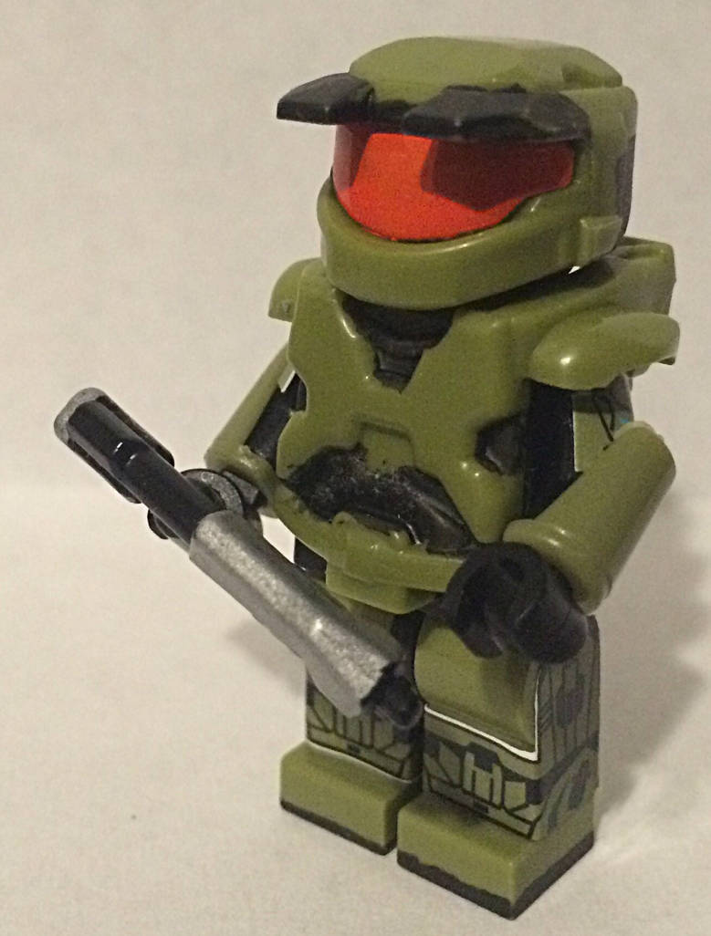 Lego Master Chief from Halo Combat Evolved  by Mike-1911 on