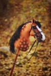 Hobbyhorse 'Grim Dawn' by Eponi-hobbyhorses