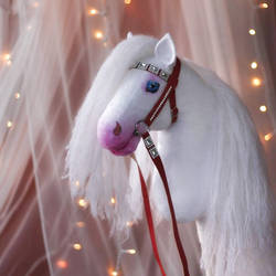 Hobbyhorse 'Snow Angel' by Eponi-hobbyhorses