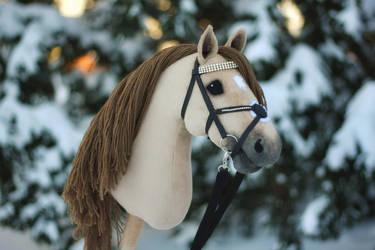 Hobbyhorse 'Sandybell' by Eponi-hobbyhorses