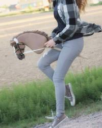 Hobbyhorse Riding by Eponi-hobbyhorses