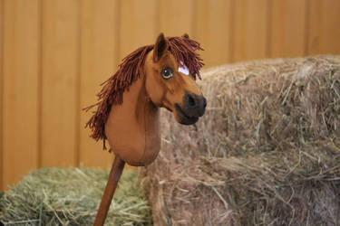 Hobbyhorse 'Kirby' by Eponi-hobbyhorses