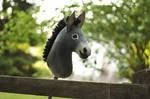 Hobbyhorse Donkey by Eponi-hobbyhorses