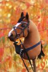 Hobbyhorse 'Trial by Fire' by Eponi-hobbyhorses