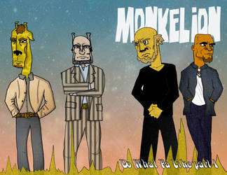 Monkelion #2 Cover by CosmicLionComix