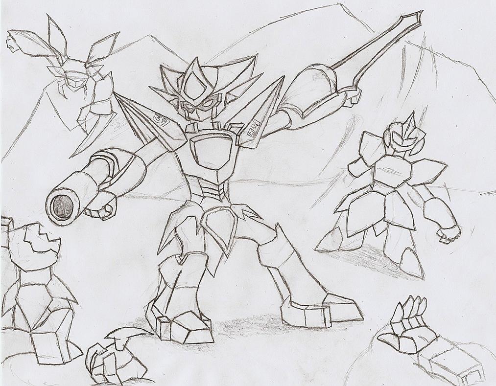 Ryu's Battle by NeonNeoz