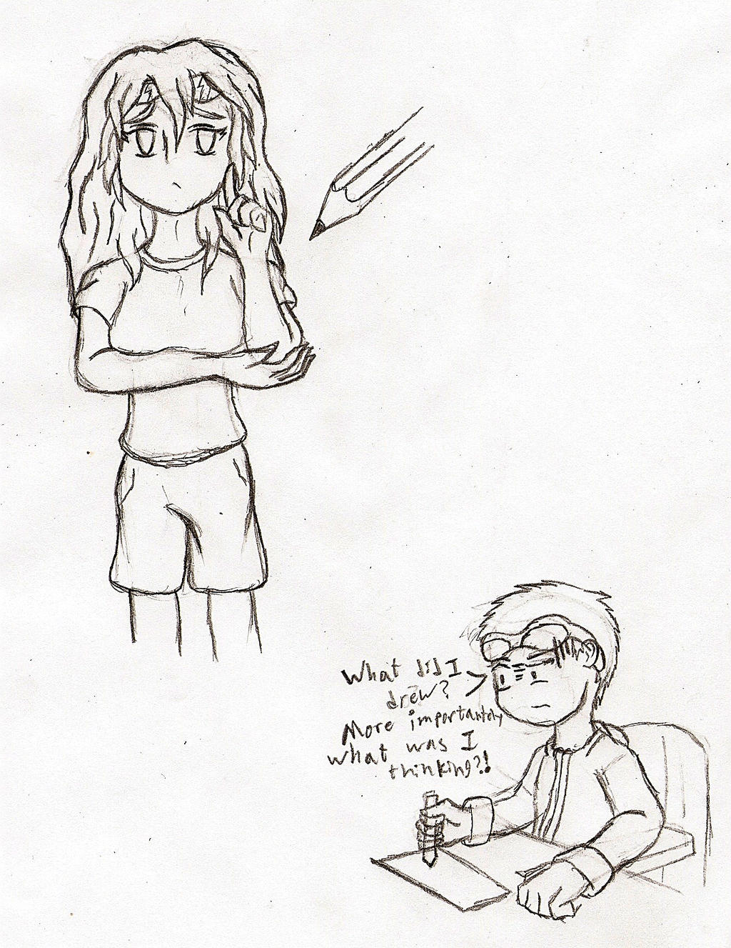 A Gender-bended ME!?! WHAT THE FRAG!!?!?! by NeonNeoz