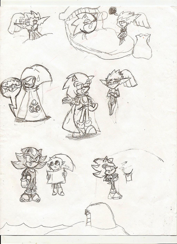 Old Art Sketch PART 3!!!!!! by NeonNeoz