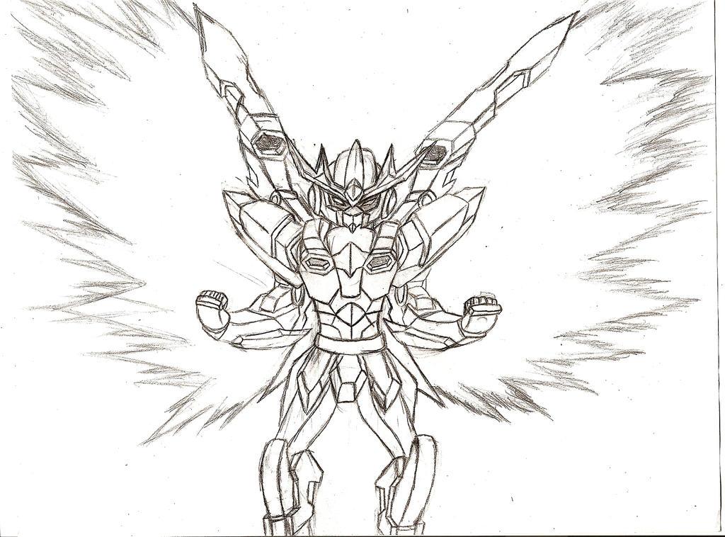 Burst Stream Gundam by NeonNeoz