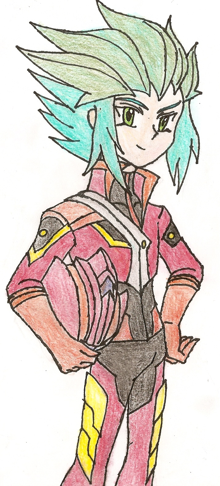 Arc-V OC: The Duelist of Passion by NeonNeoz