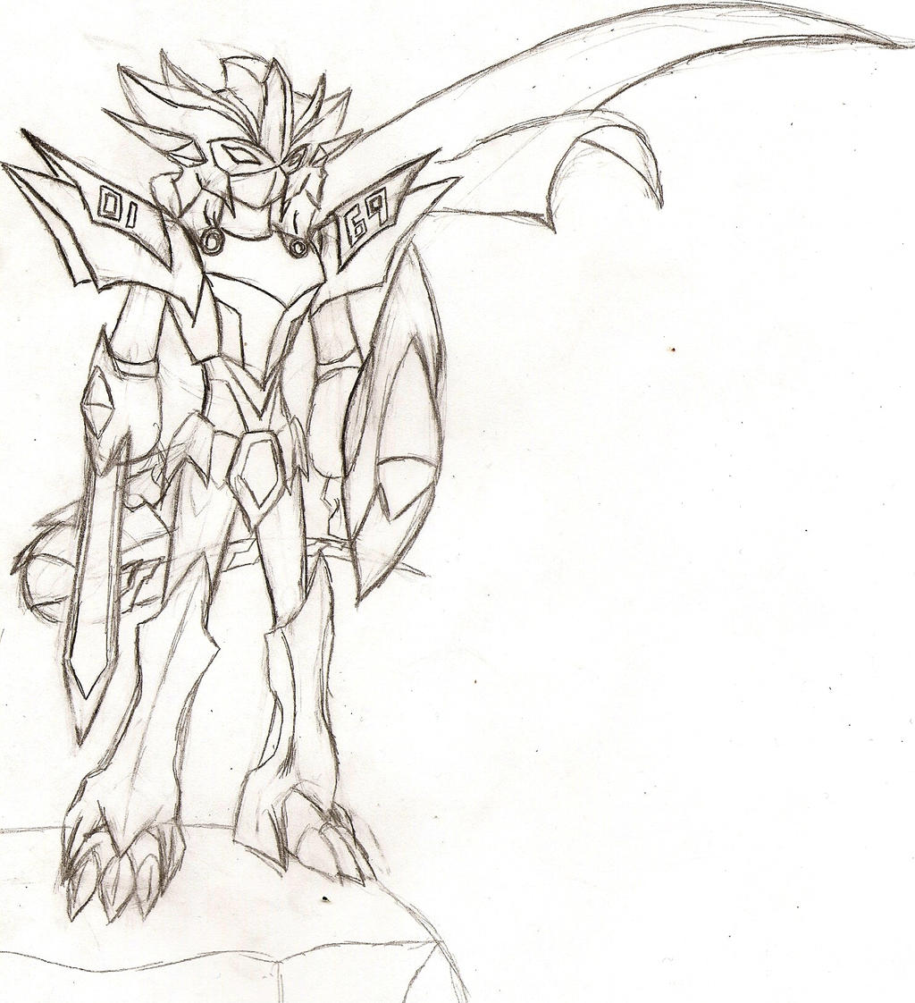Paladin Medaforce Beast Form by NeonNeoz