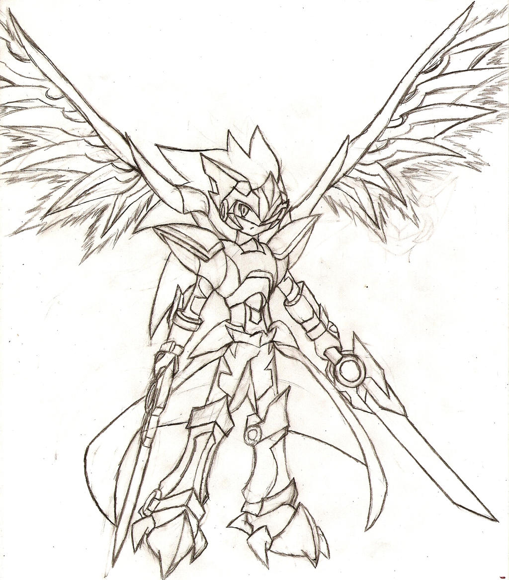 Megaman Starforce Oc: Eon-Stratos by NeonNeoz