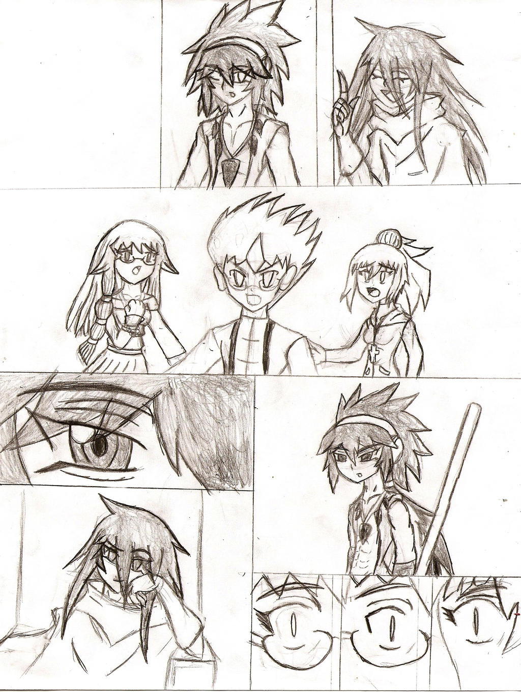 Arc-V: Confrontation of the King by NeonNeoz