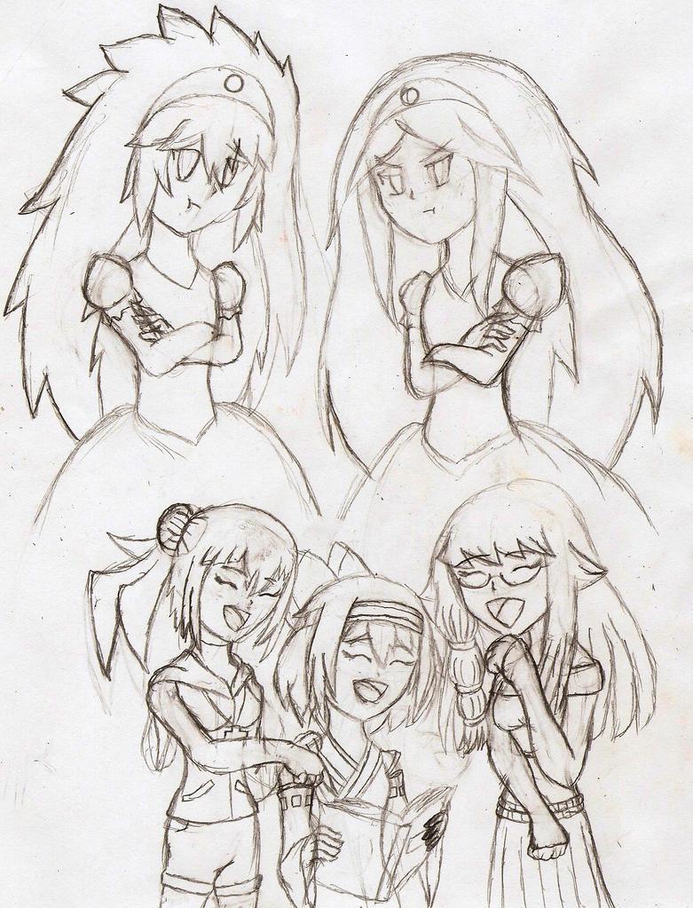 Look at these Princess~ (Happy BirthdayJnennyuki) by NeonNeoz