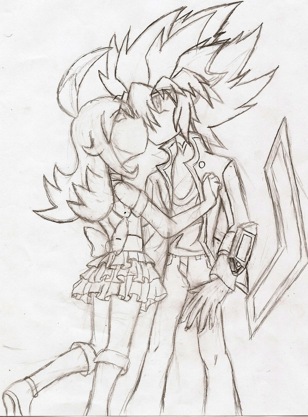 Arc-V: The Kiss that started it all~ by NeonNeoz