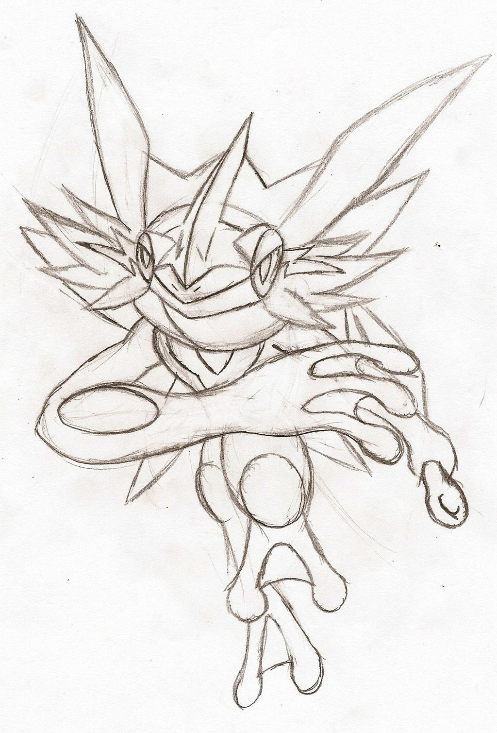 Ash-Greninja: Dash Attack! by NeonNeoz
