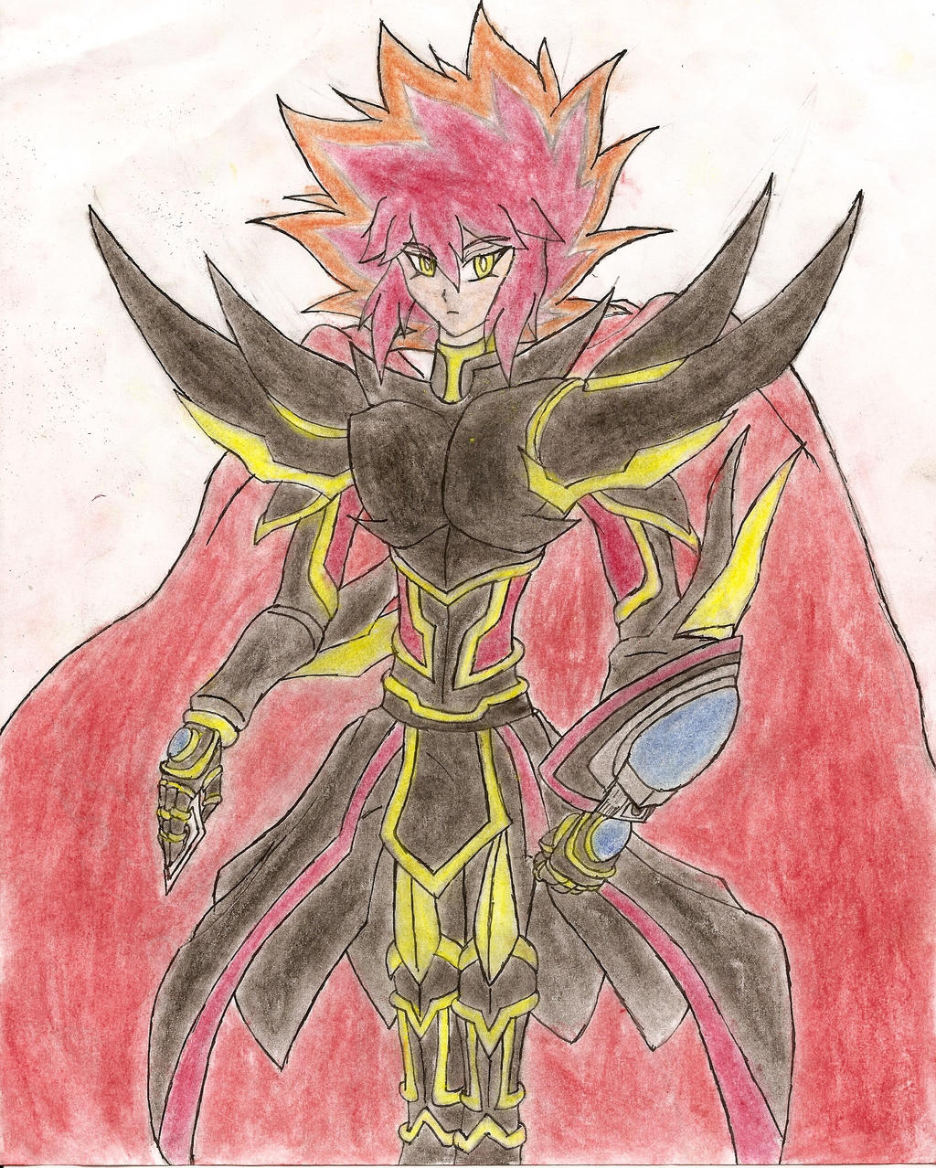Arc-V OC: The Surpeme Duelist by NeonNeoz