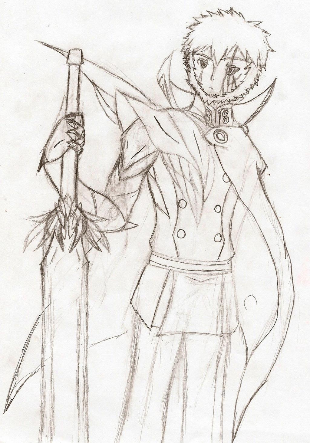 Owari no Seraph OC: Revelation of the Gentle Demon by NeonNeoz