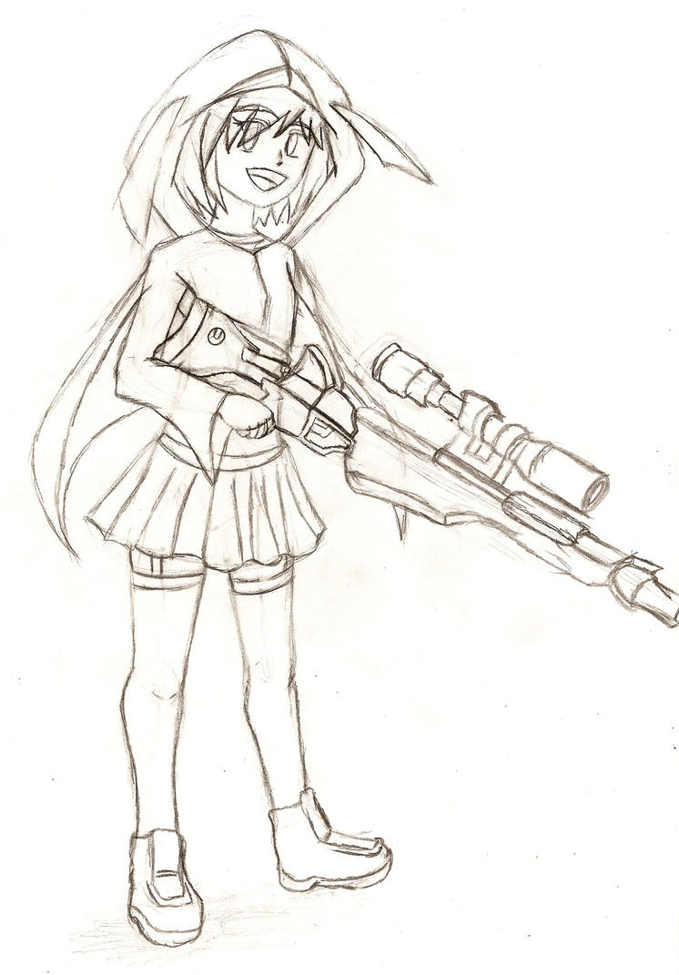 Gift3: Sami and her Sniper! by NeonNeoz
