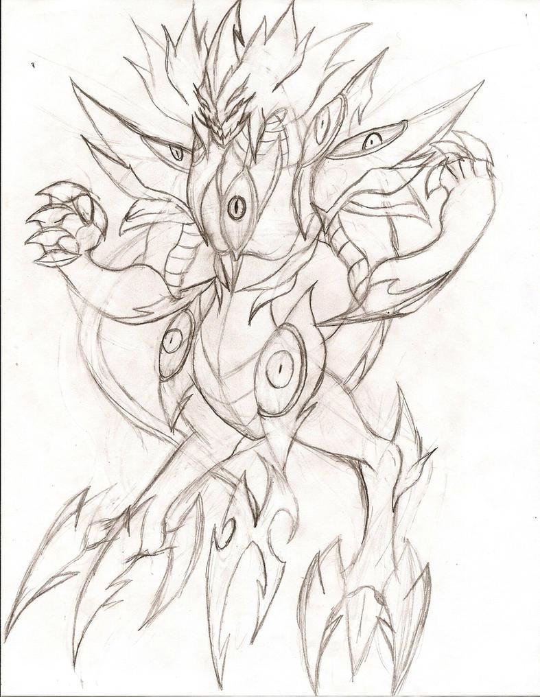 Evil Hero Supreme Darkness Phoenix Dragon by NeonNeoz