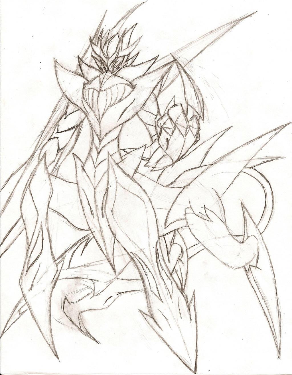 Owari no Seraph OC: The Devil Horsemen Apocalypse by NeonNeoz