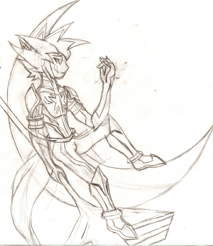 ZEXAL OC: Truth of the Crescent Moon Guardian by NeonNeoz