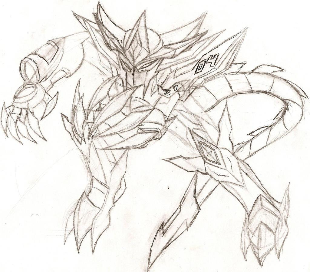 Medabeast 2.0: Ryu by NeonNeoz