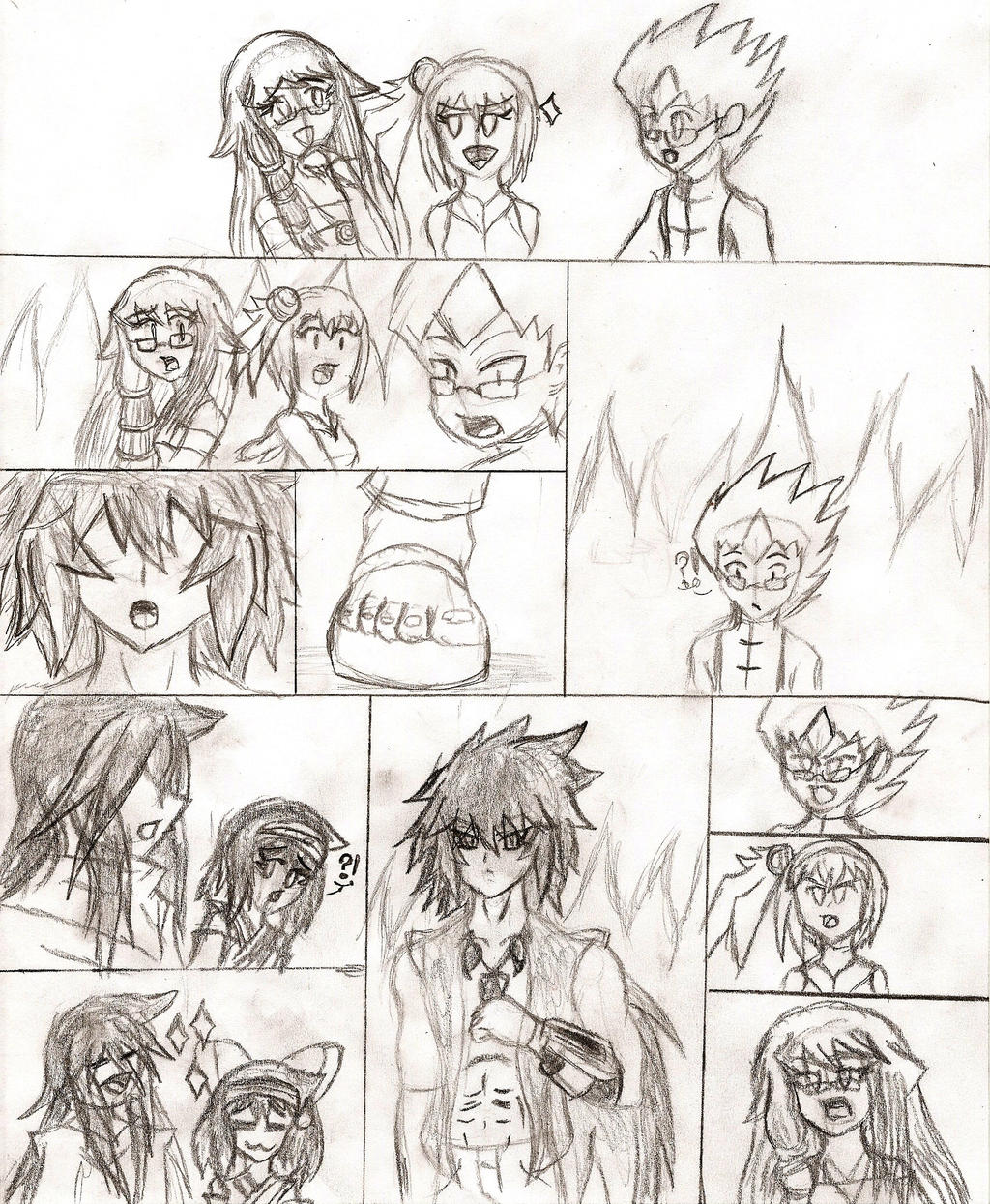 Arc-V: Duel with the King of Rituals by NeonNeoz