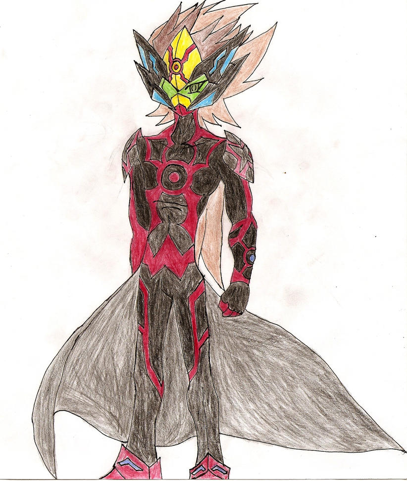Vrains OC: X-Acel by NeonNeoz