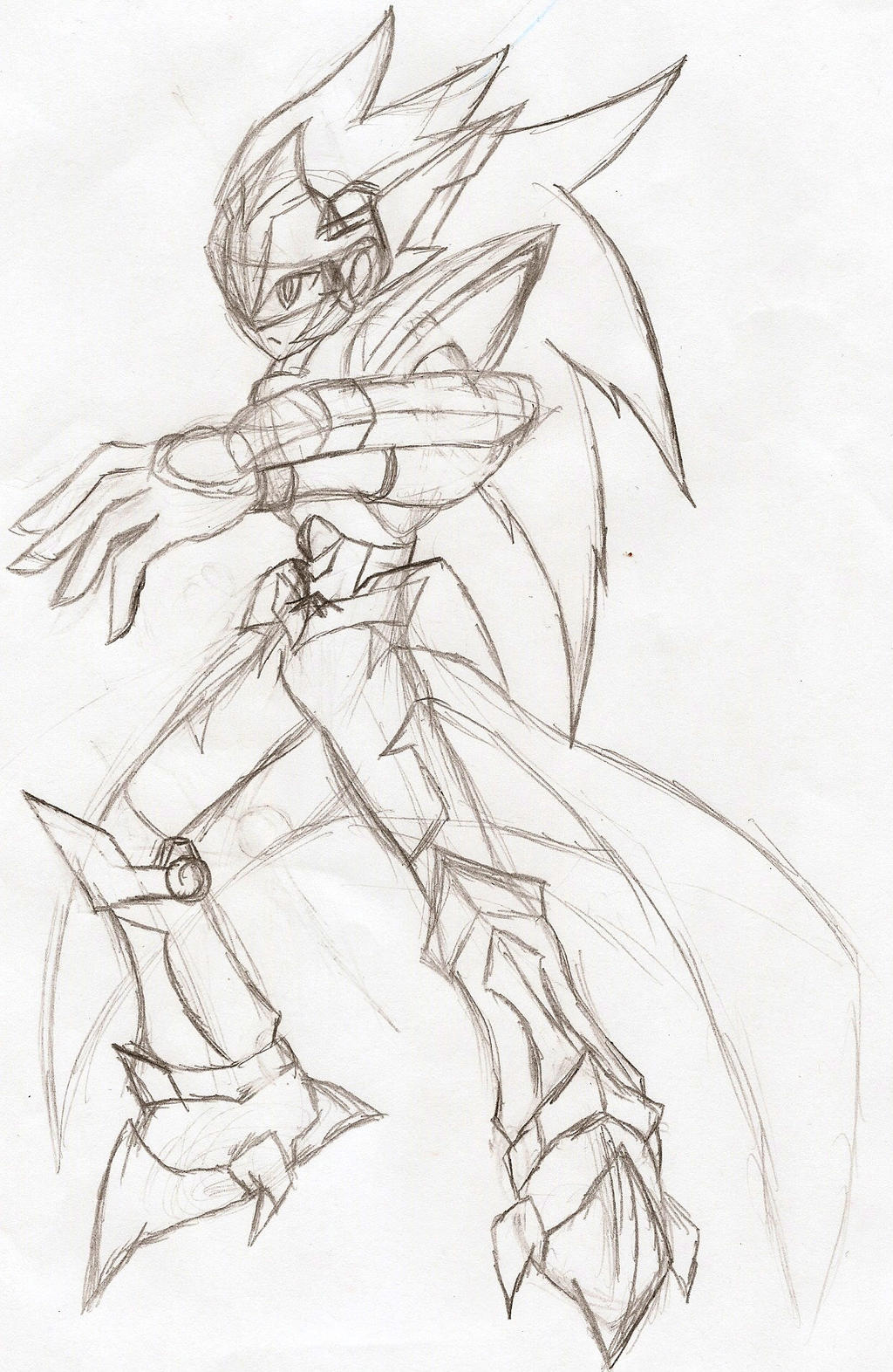 Megaman Starforce OC: Ready by NeonNeoz