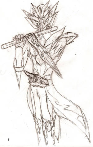 BNHA OC: The Second Kamen Rider Cosmic War-Dragon by NeonNeoz