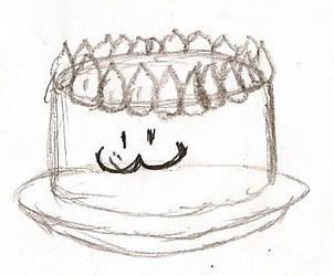 RAMADRAW!! Day 27: Cake by NeonNeoz