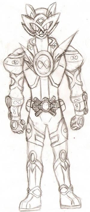 The Symbol of Possibility Kamen Rider Z-Finity by NeonNeoz