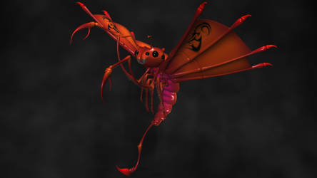 Flying Scorpion by 3DSud