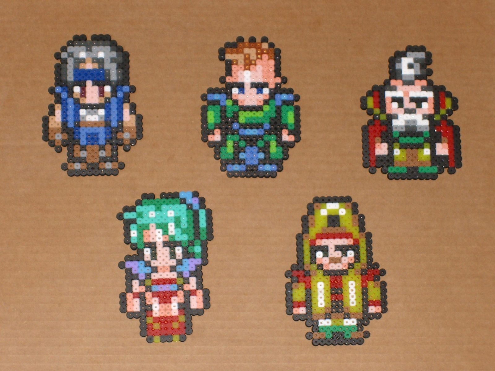 Final Fantasy 6 Wallpaper Sabin Llll