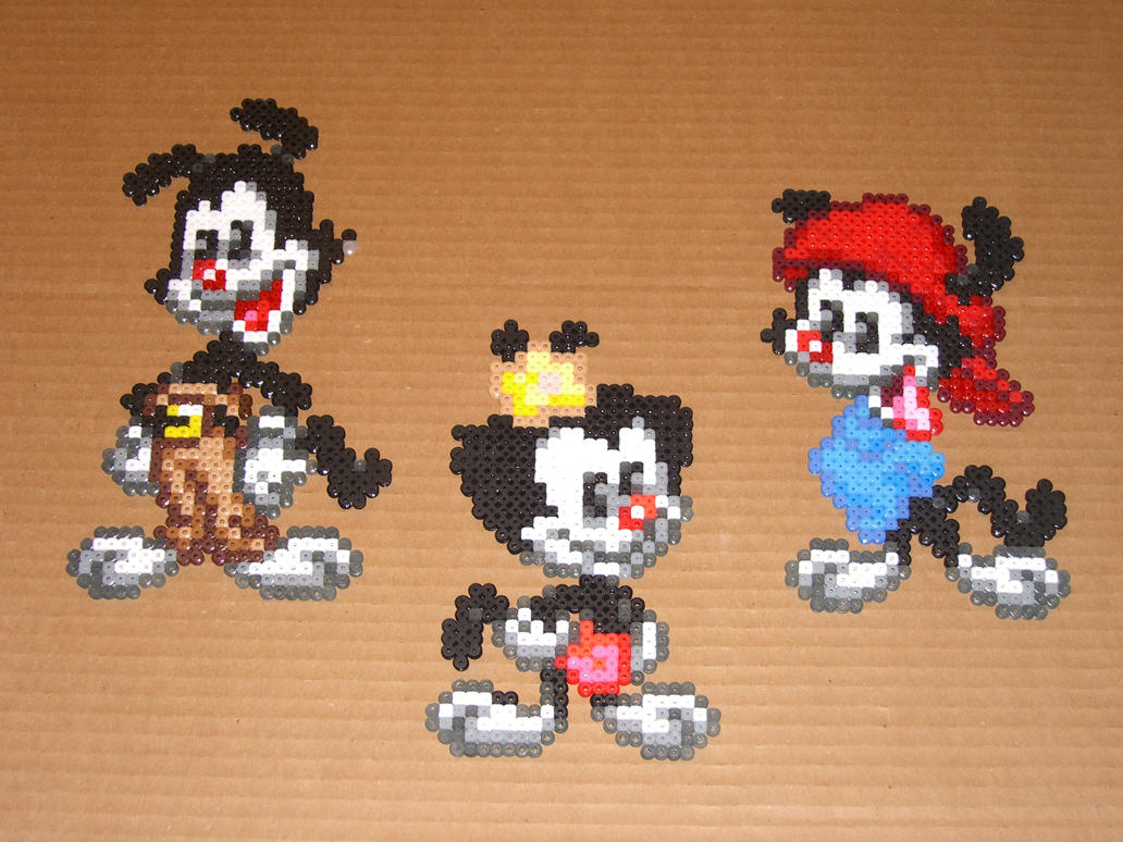The Animaniacs Bead Sprites 01 by zaghrenaut