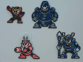 Megaman bead bosses 12